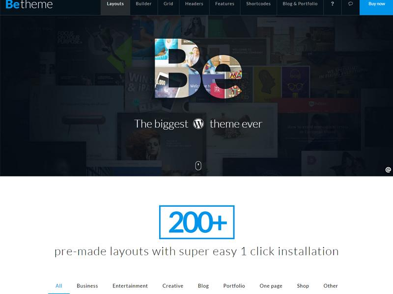 BeTheme WordPress