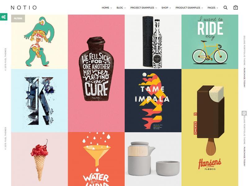 notio wp portfolio theme