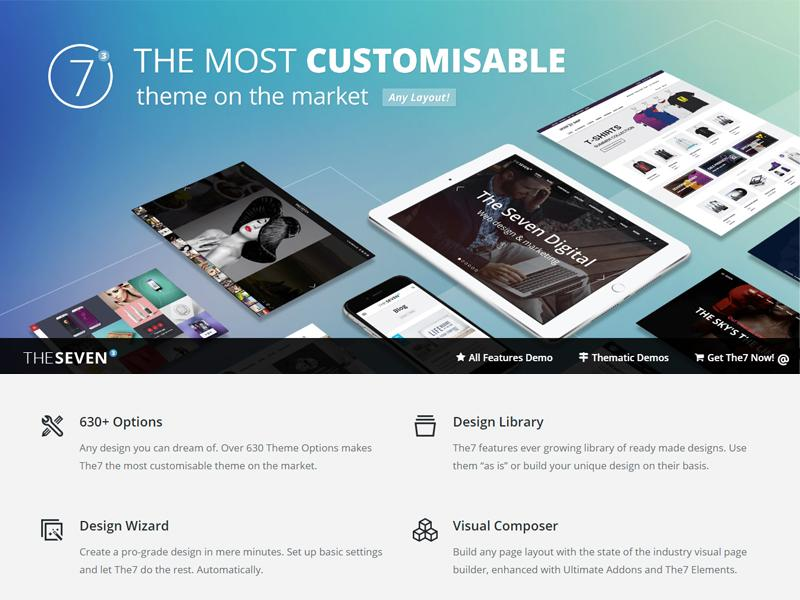 the7 wp theme