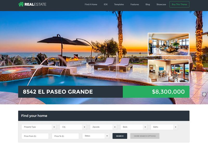 wp pro real estate theme