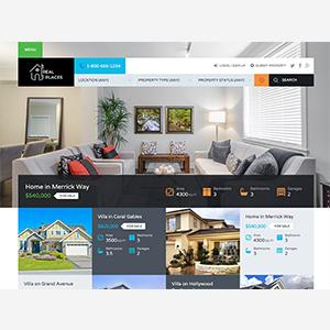 real places wordpress theme