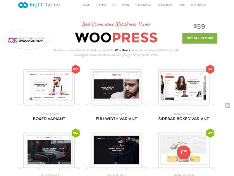 woopress theme