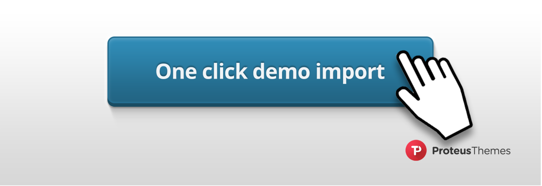 one click demo import plugin