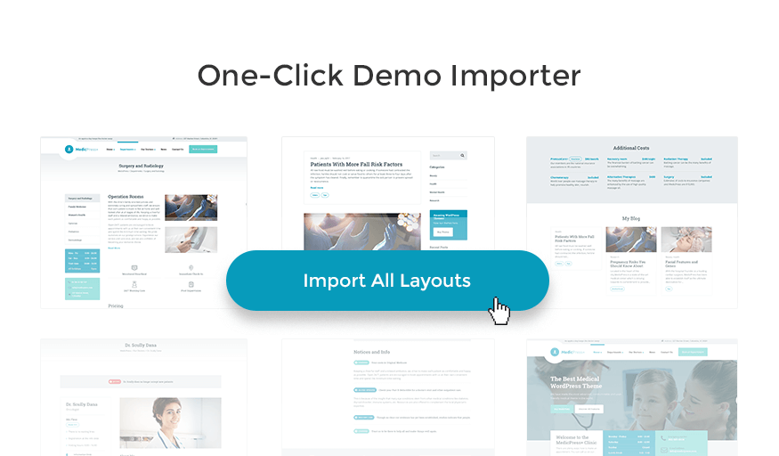 medicpress demo import