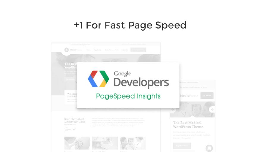 page speed medicpress