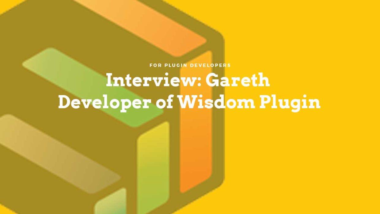Interview: Gareth Developer of Wisdom Plugin