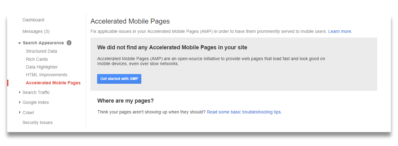 How to Invoke AMP (Accelerated Mobile Pages) in WordPress? 6  General