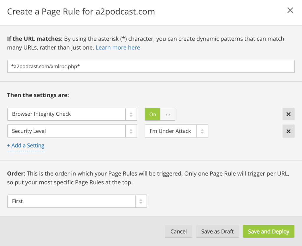 Protect Websites From Brute Force Attacks With Cloudflare Free Page Rules 2  General