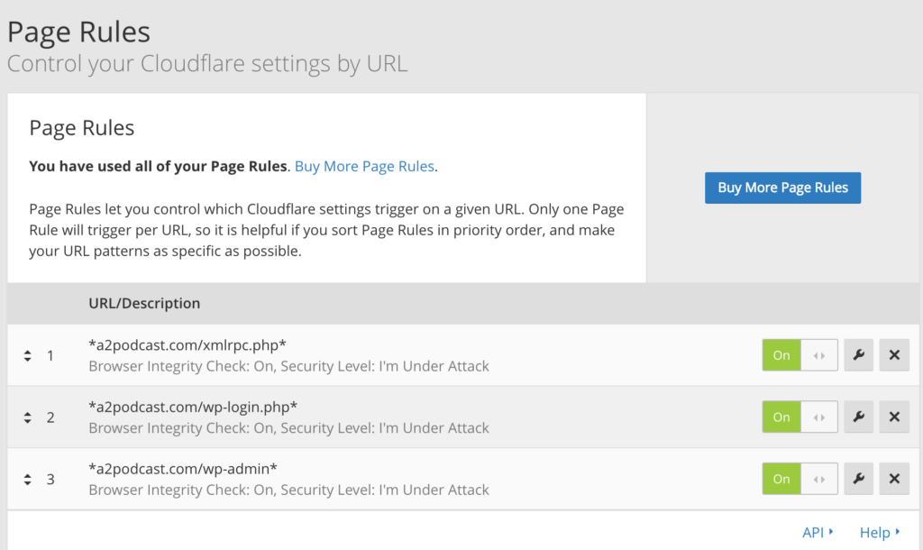 Protect Websites From Brute Force Attacks With Cloudflare Free Page Rules 3 General