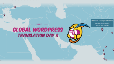 [EVENT SUMMARY]: Global WordPress Translation Day 3