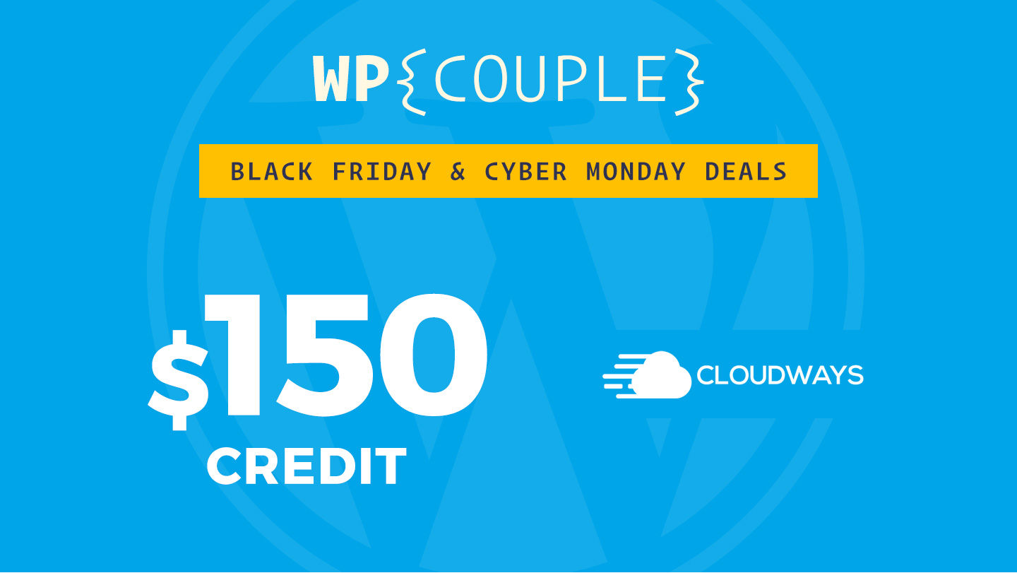 Best WordPress Black Friday Deals for 2017 (+ Cyber Monday) by TheDevCouple 4 wordpress black friday deals 2017 Community