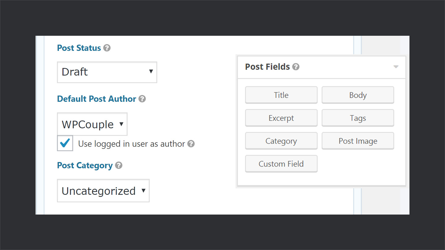 Creating WordPress Post via Gravity Forms