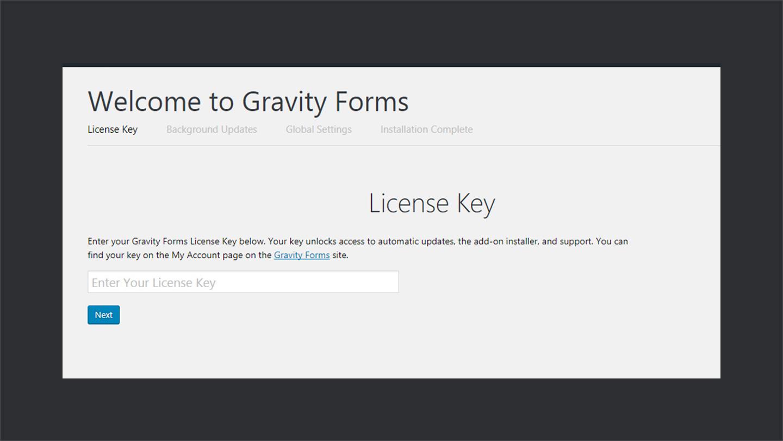 Gravity Forms License Key
