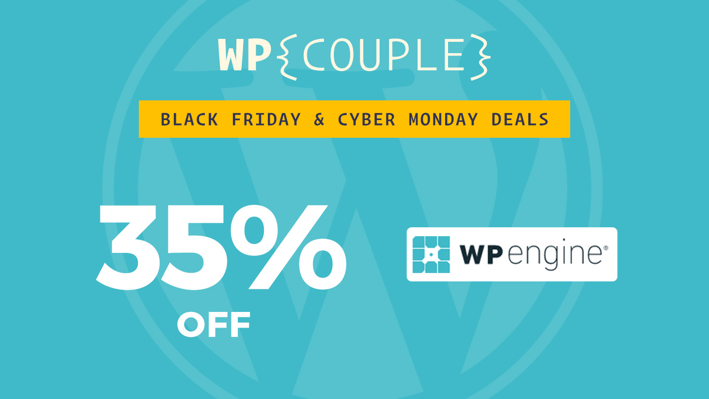 Best WordPress Black Friday Deals for 2017 (+ Cyber Monday) by TheDevCouple 3 wordpress black friday deals 2017 Community
