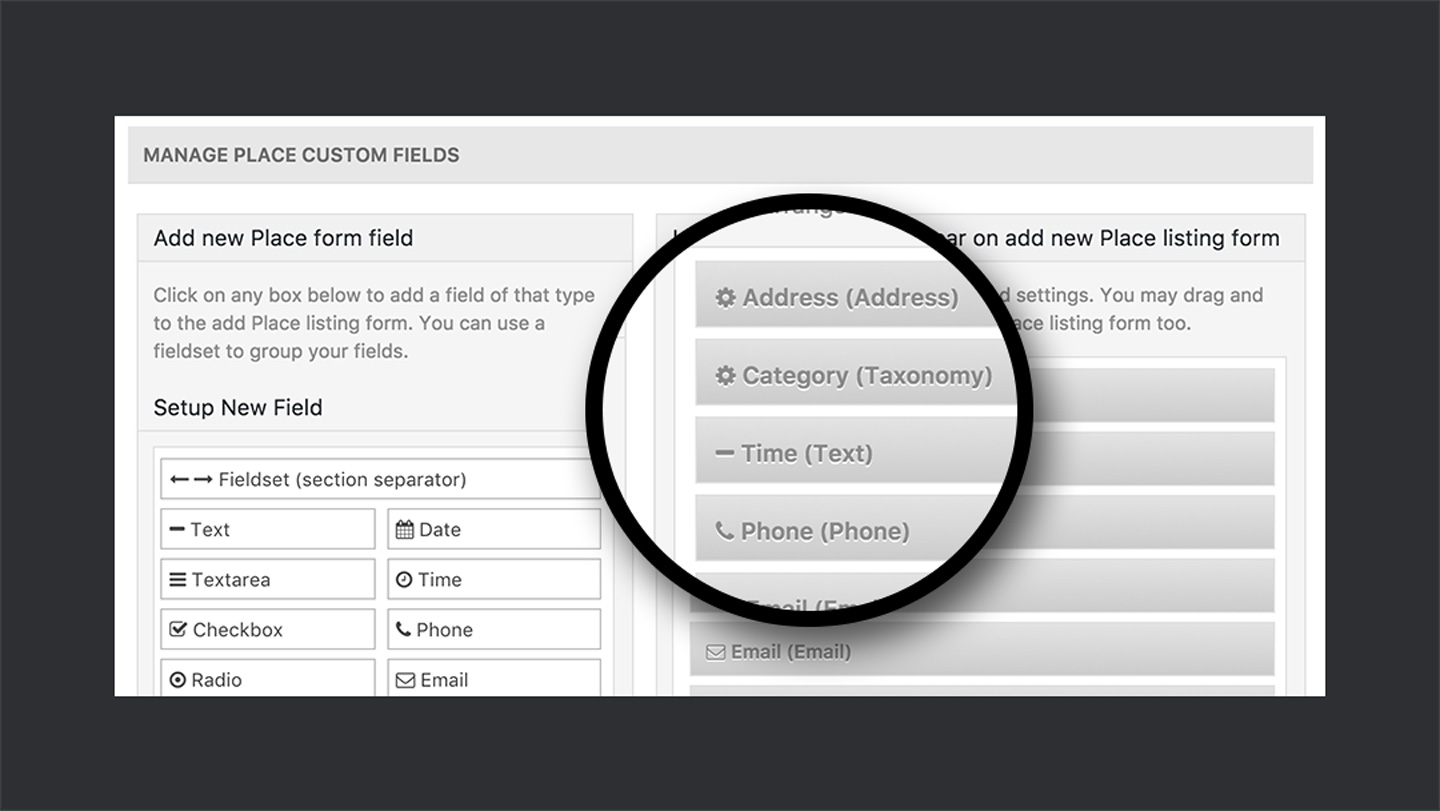 GeoDirectory — Front-End Submission Form Setting