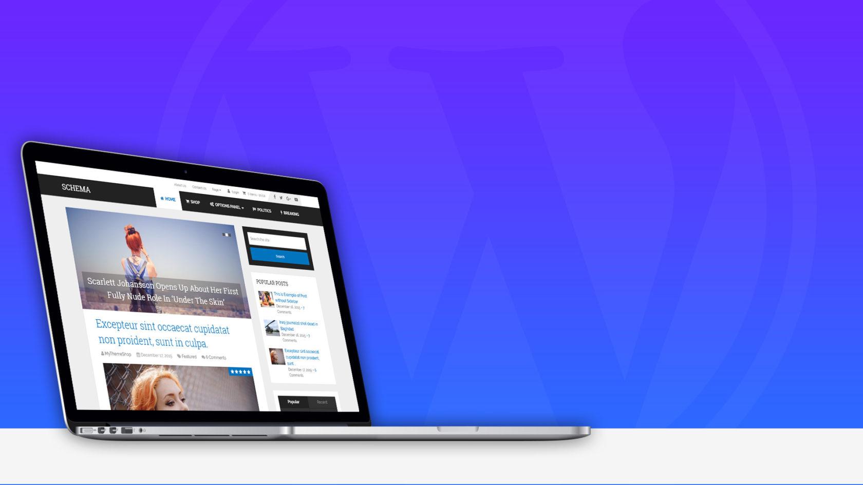 MyThemeShop Schema Review – Fastest SEO Friendly WordPress Theme