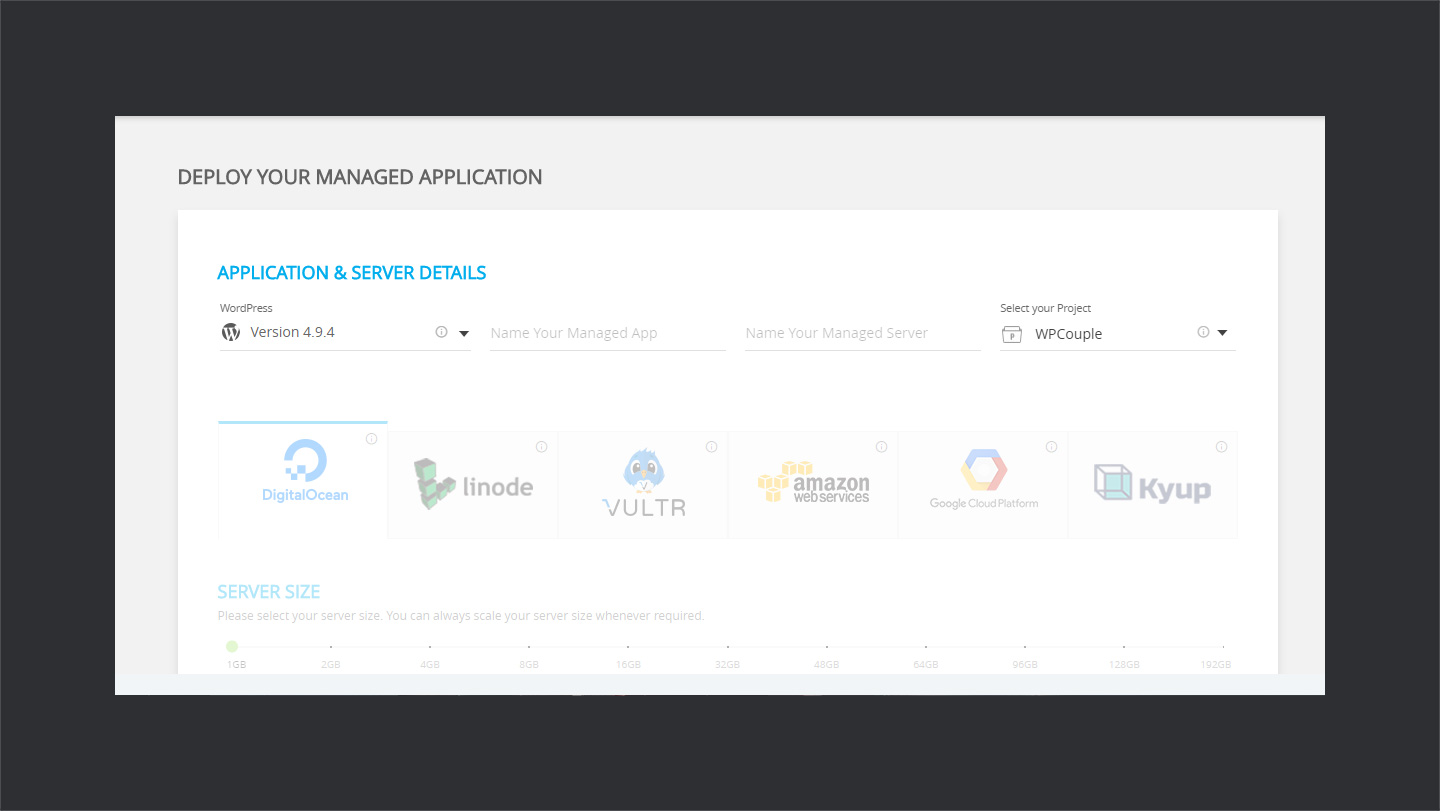 CloudWays-Application-Details