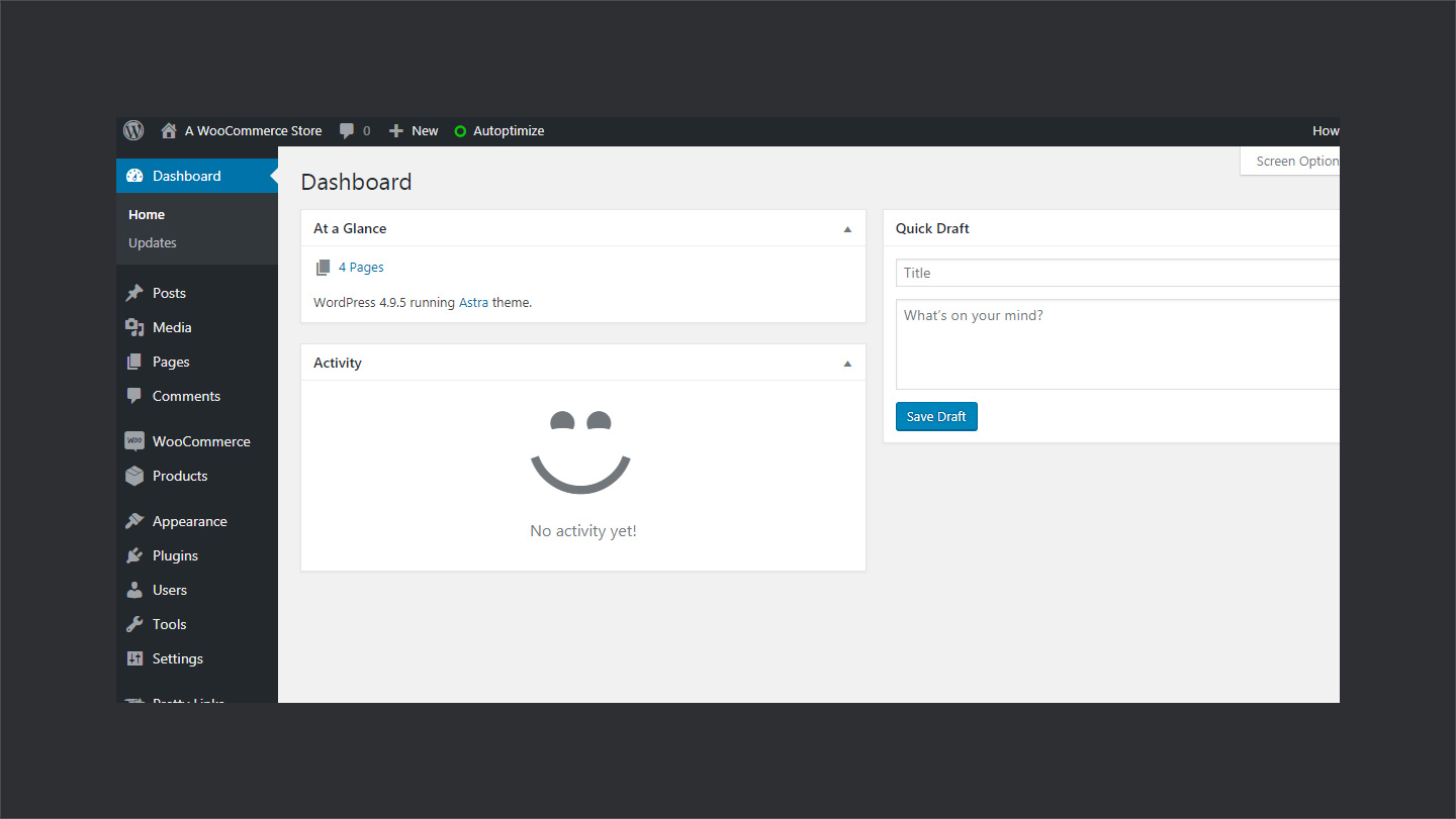 Liquidweb Woocommerce Wp Dashboard