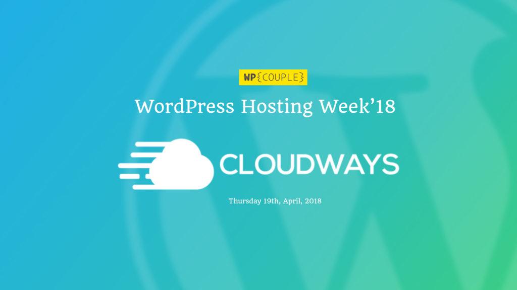 Hosting Week Cloudways Announcement