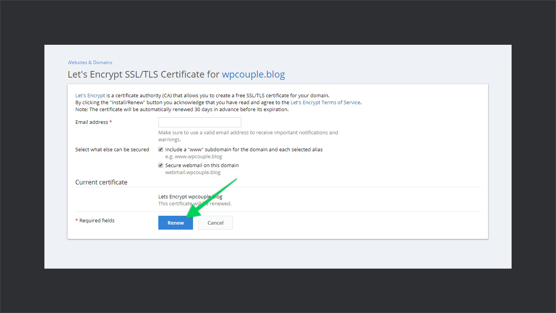 Wpwebhost Ssl Certificate