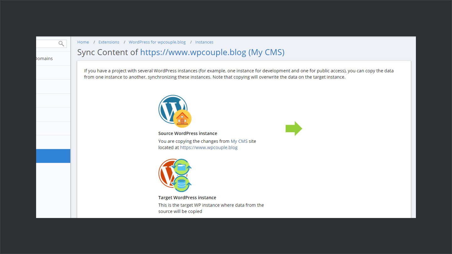 Wpwebhost Sync Sites