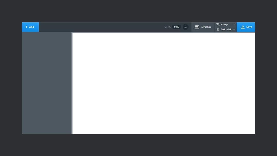 Oxygen Visual Editor
