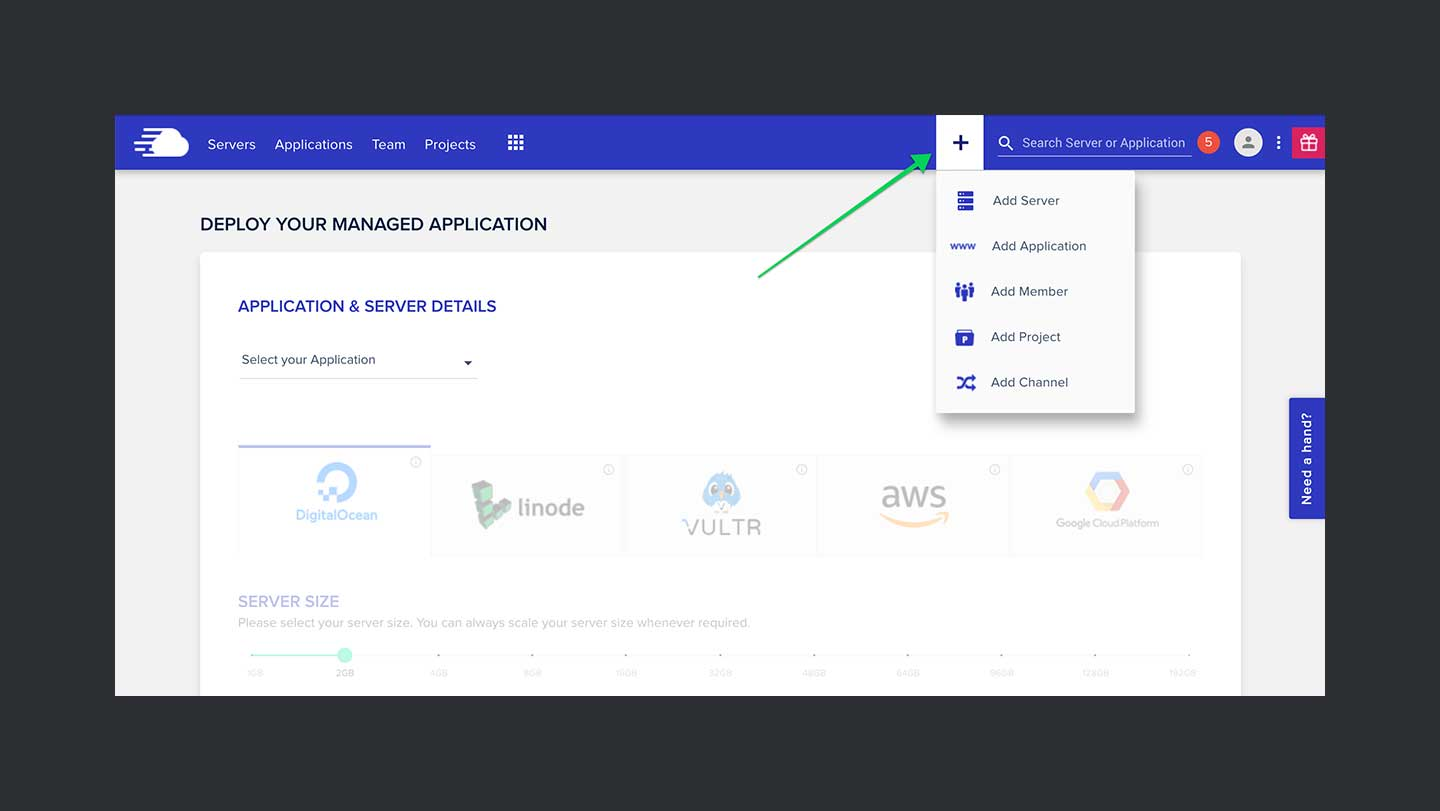 Cloudways Review Step 1