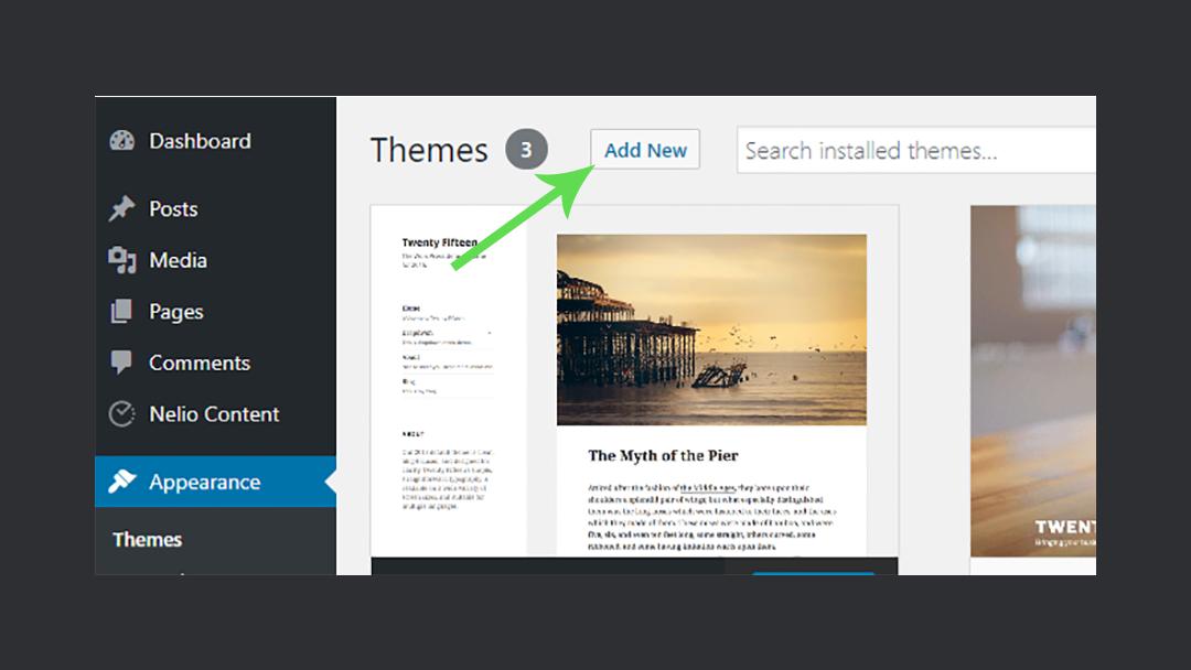 Listingpro Install Theme
