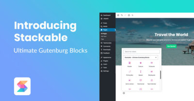Stackable – Ultimate Gutenberg Block!