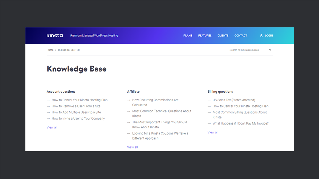 Kinsta Knowledgebase Thedevcouple