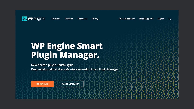 Wp Engine Smart Plugin Manager Landing Page